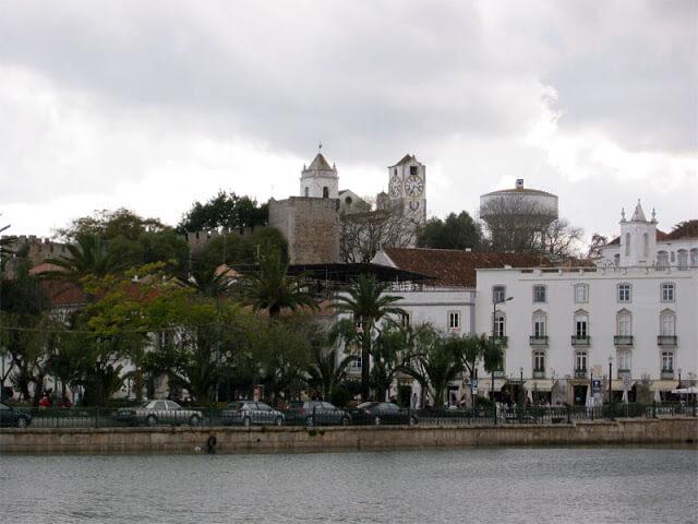 Tavira en el Algarve