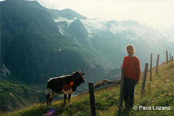 Paisaje de los Alpes austriacos