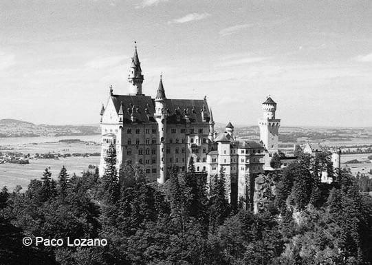 Neuschwanstein: el castillo de la Bella Durmiente