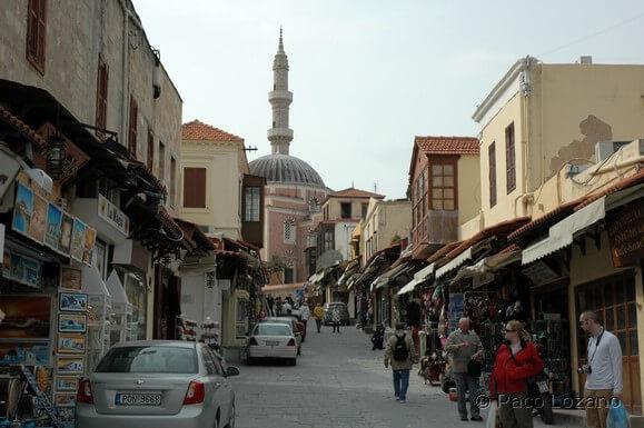 Rodas: calle Sokratous