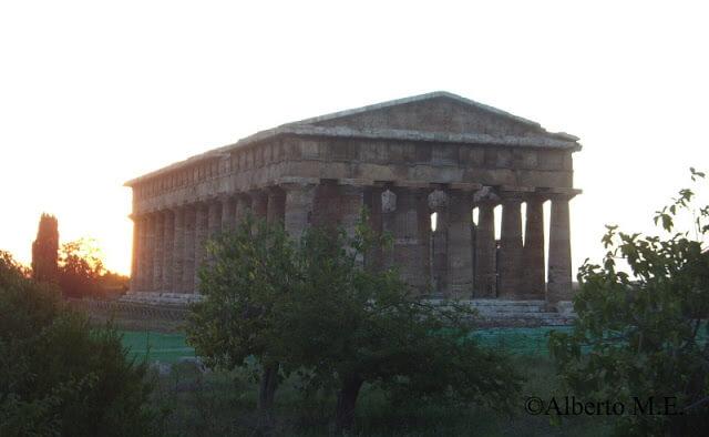 Templo de Poseidón (Paestum, Italia)