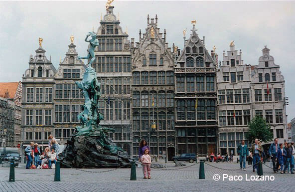 Amberes: Plaza Mayor
