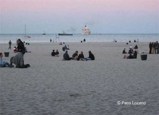 Playa de Gdynia, Polonia