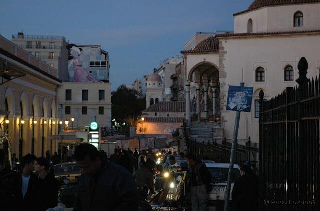Monastiraki, en Atenas (Grecia)