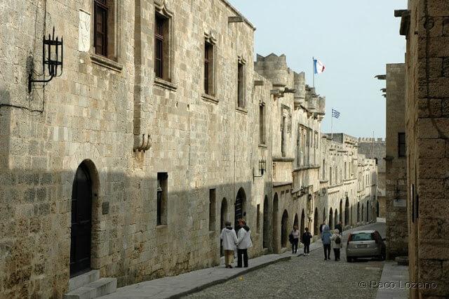 La Calle de los Caballeros, Rodas (Grecia)