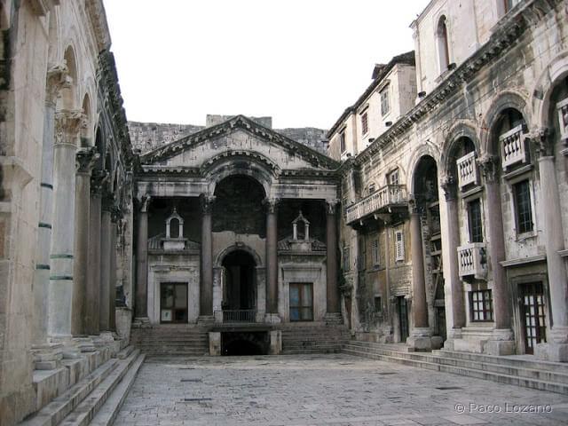 Palacio de Diocleciano, Split (Croacia)