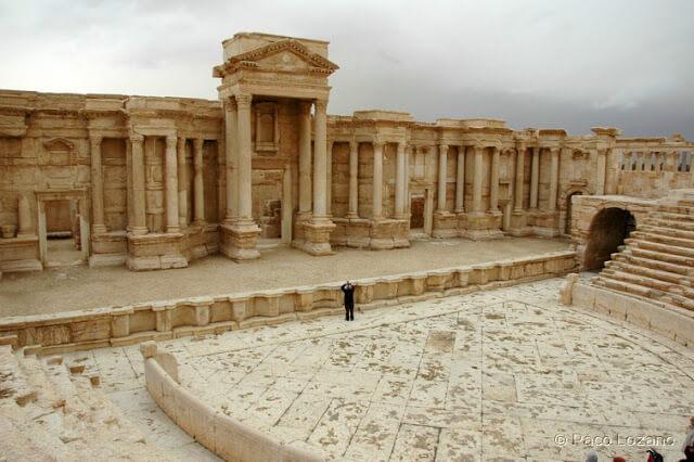 El Teatro de Palmira en 2008