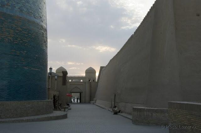 Atardecer en Jiva (Khiva)