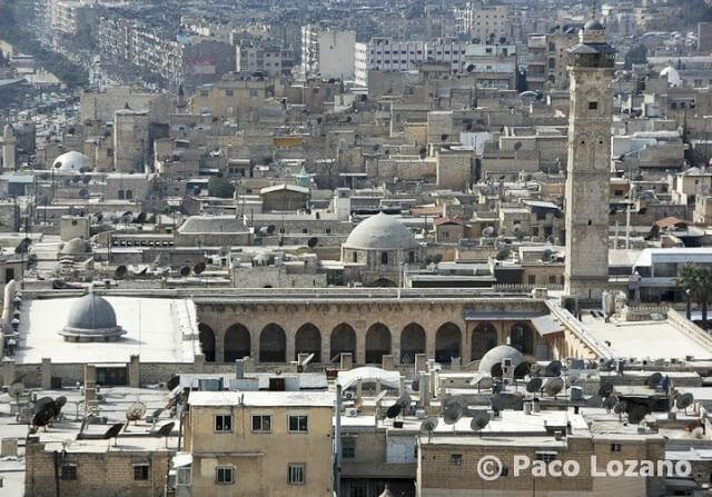 La Gran Mezquita de Alepo