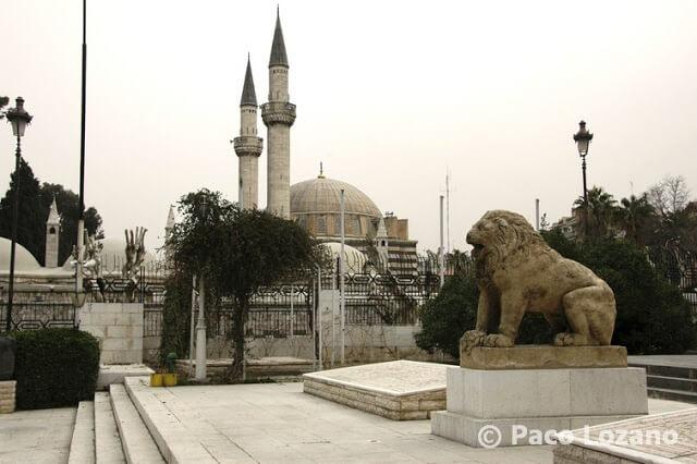 El león del Museo Nacional de Damasco