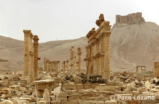 Palmira y el castillo árabe