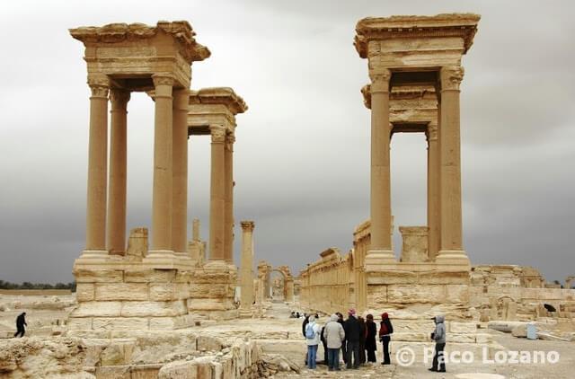 El Tetrapylon de Palmira