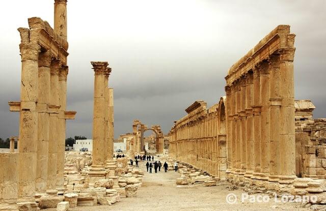 Palmira: el Decumano
