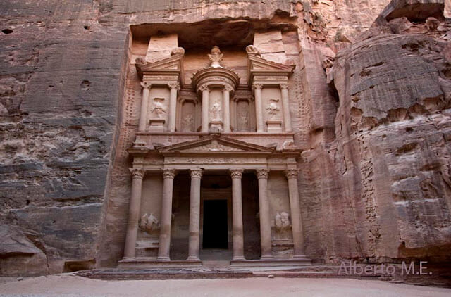 El Tesoro (Al Khazneh), Petra (Jordania)