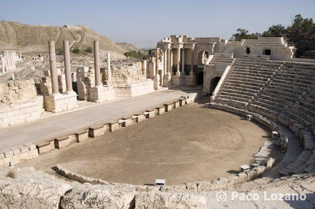 El teatro romano de Bet She'an