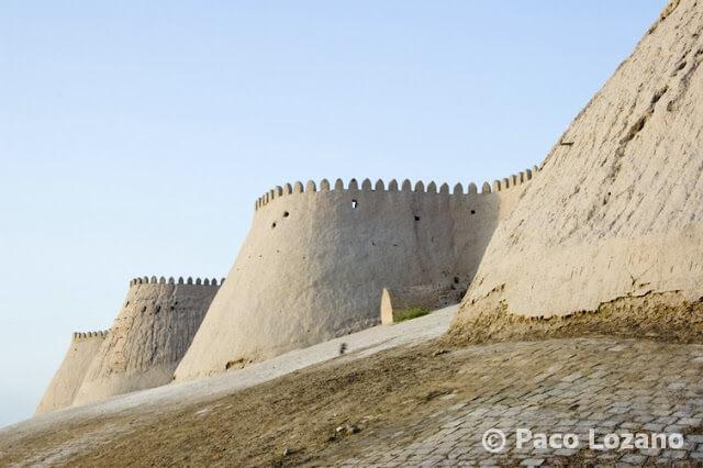 Murallas de Jiva (Khiva)