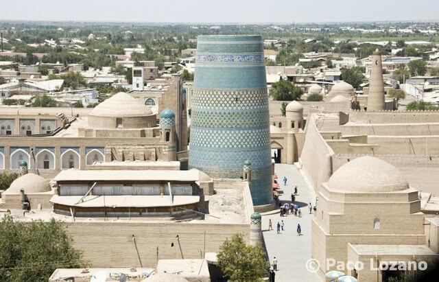 Minarete inacabado de Jiva (Khiva)