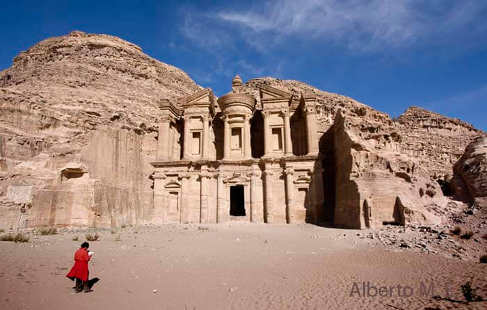 El Monasterio, Petra (Jordania)