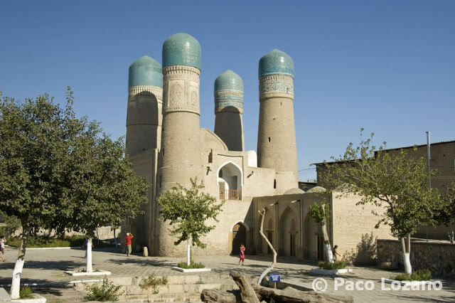 Madrasa Chor Minor de Bujará, Uzbekistán