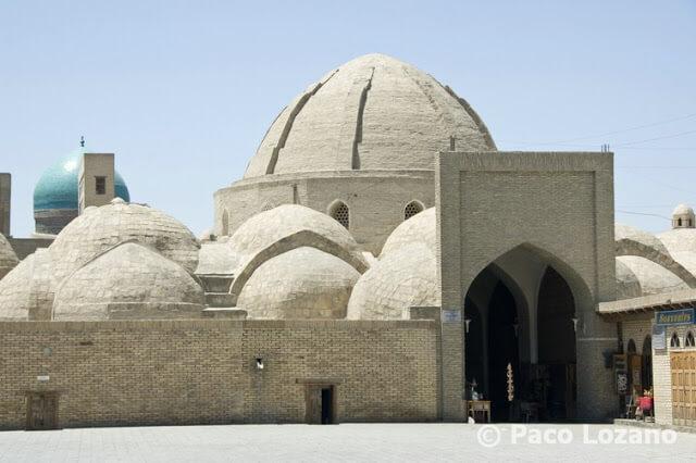 Bujará: cúpula comercial