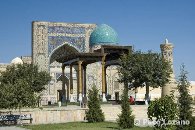 Madrasa de Ulugbek en Gijduvan, Uzbekistán