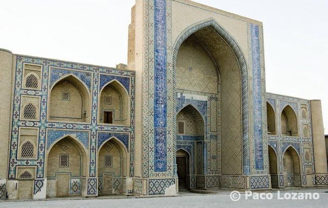 Madrasa en Bujará, Uzbekistán