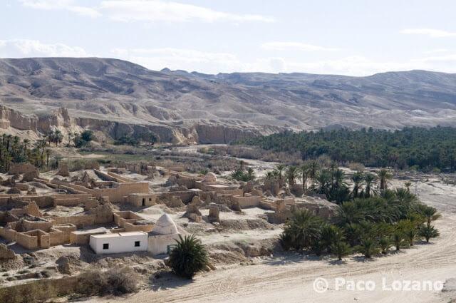 Tamerza, oasis de montaña en Túnez