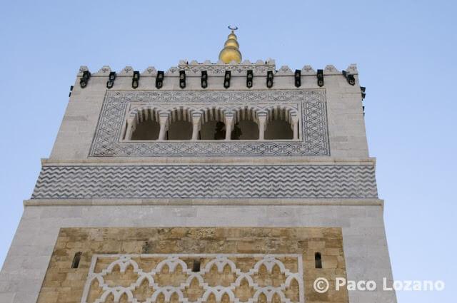 Minarete de la mezquita Zituna, Túnez