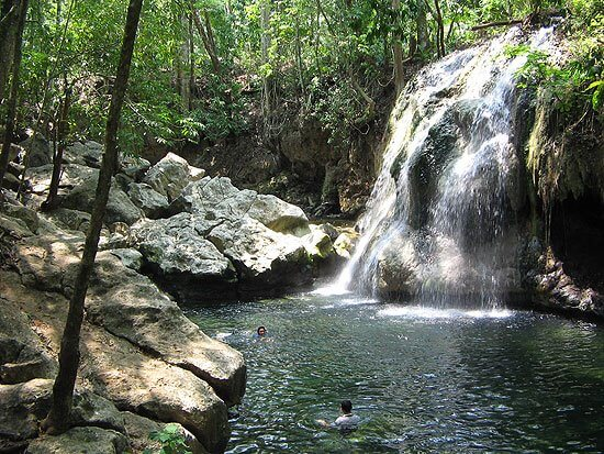 Cascada del Paraíso, Guatemala