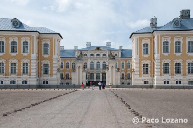 Palacio de Rundale, Letonia