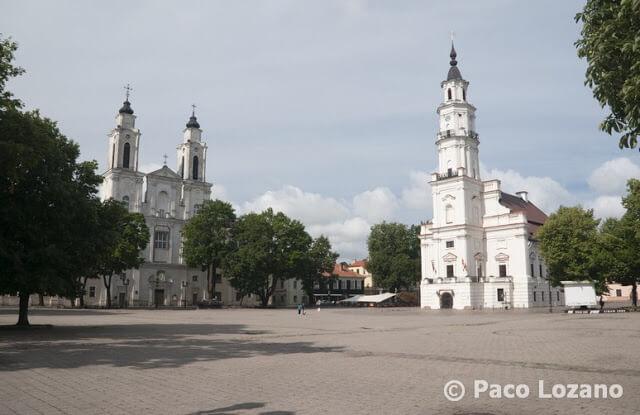 Plaza Mayor de Kaunas Lituania