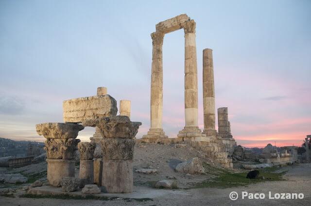 Templo de Hércules en Ammán