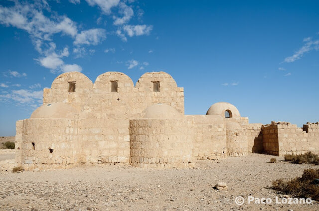 Los castillos del desierto de Jordania: Qusayr Amra