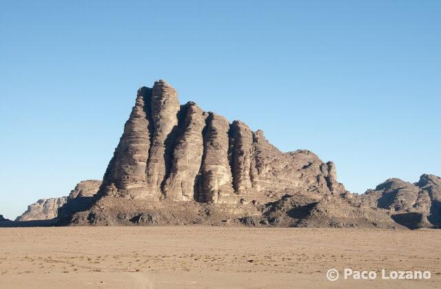 Wadi Rum, los Siete Pilares de la Sabiduría