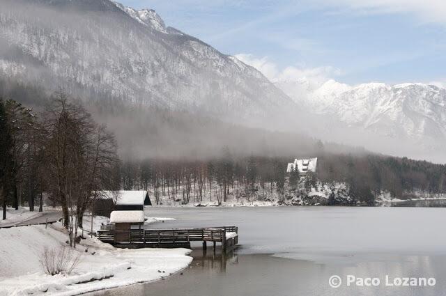 El lago Bohinj