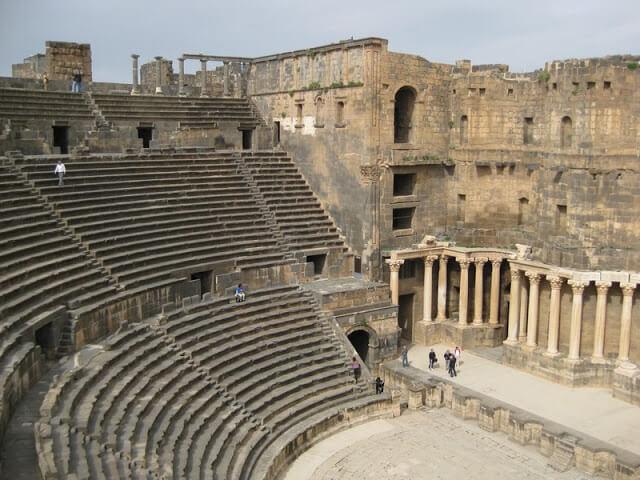 Teatro de Bosra, Siria