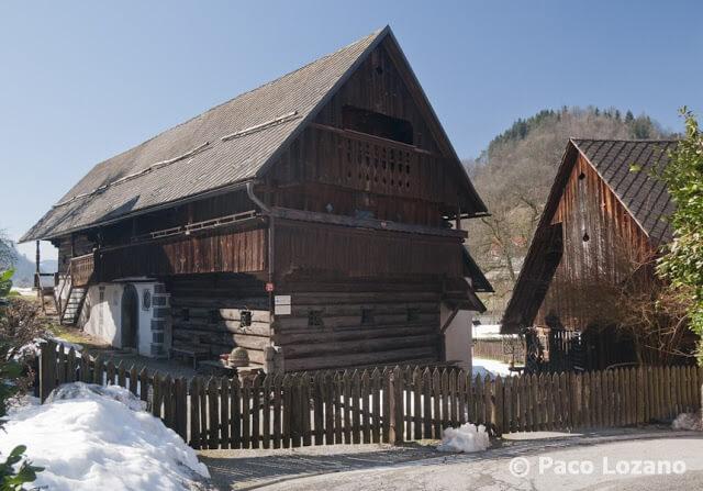 Casa de madera en Skofja Loka