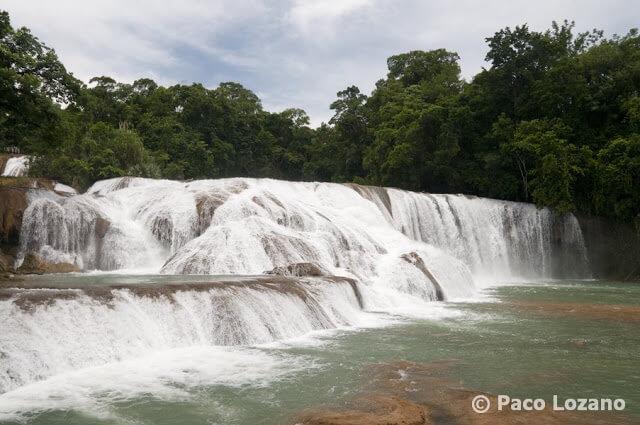 Cascadas de Agua Azul en Chiapas (México)