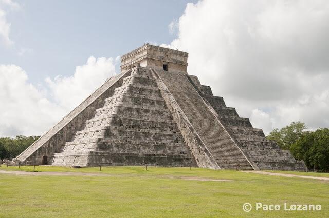 Chichén Itzá: pirámide de Kukulcán