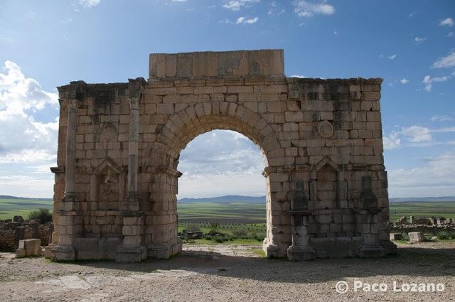 Arco de triunfo de Caracalla, Volubilis