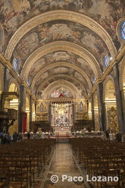 La co-catedral de San Juan en La Valeta