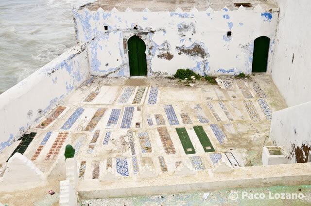 Cementerio musulmán en Arcila o Asilah