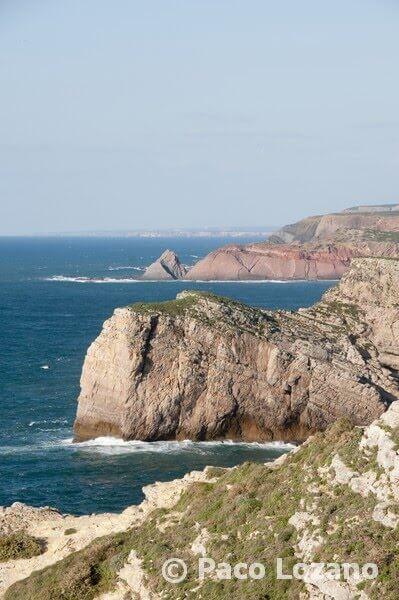 Vista norte desde el cabo San Vicente