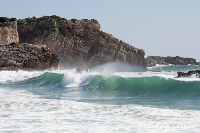 Cala en el Algarve