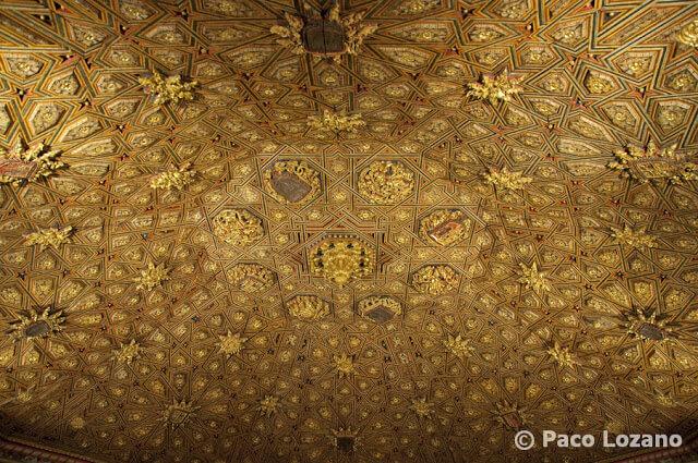 Artesonado mudéjar de San Antonio el Real, Segovia