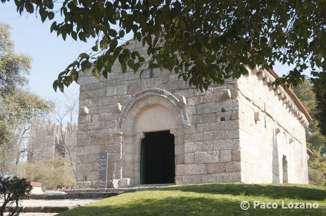 San Miguel del Castillo en Guimaraes, Portugal