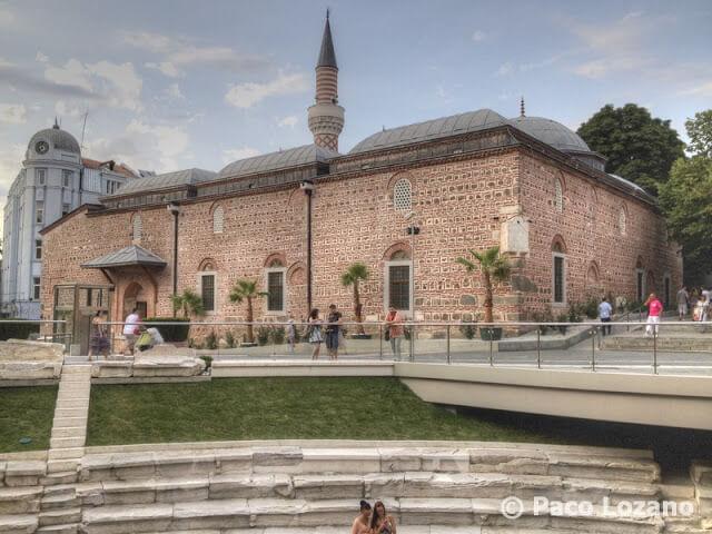 Plovdiv: la mezquita Dzhumaya y el estadio romano