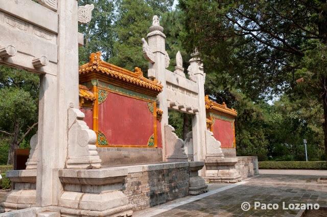 Tumbas Ming en China