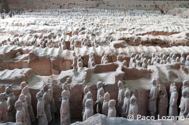 Los guerreros de terracota de Xi'an