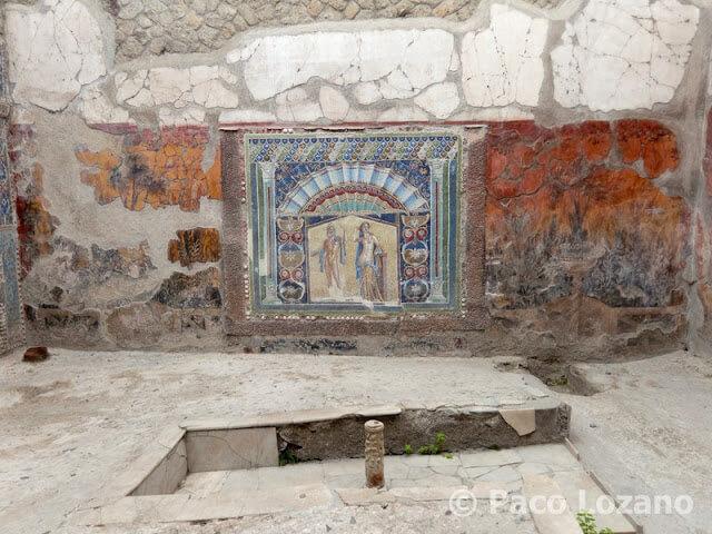 Herculano: Casa de Neptuno y Anfítrite